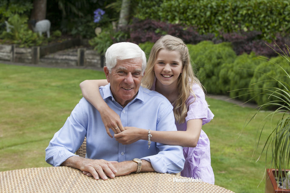Poppa and I photographed for the NZ Womans Weekly